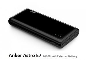 Anker Astro E7 portable charger