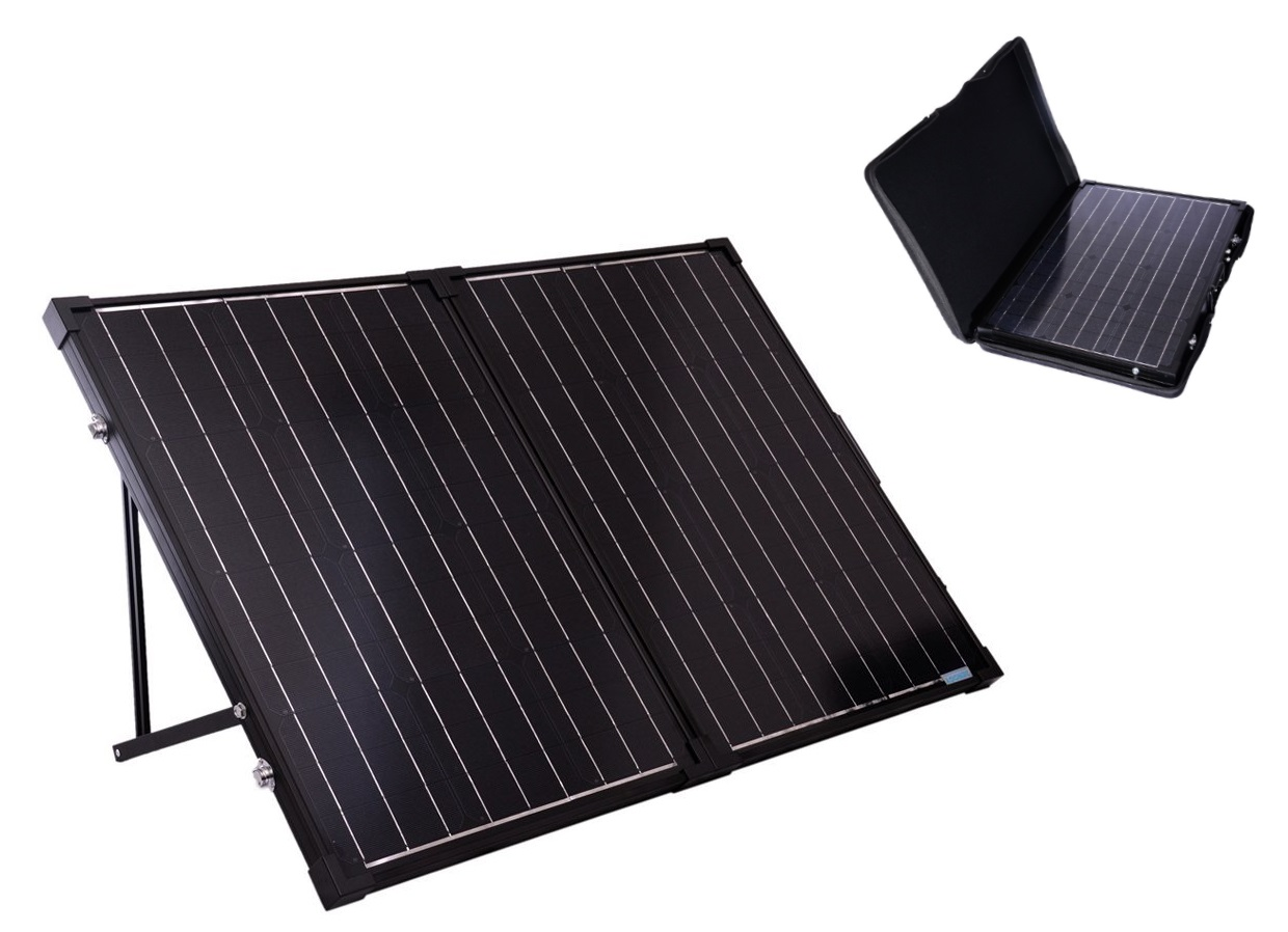Renogy 100 Watt Foldable Solar Suitcase Review Charge Daily