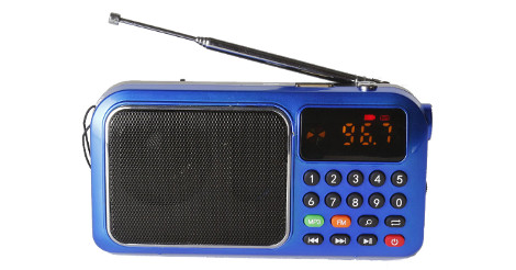 Bannixing D-72E FM Radio/MP3 Player Speaker Review
