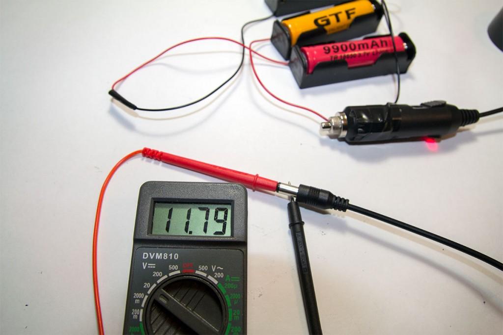 12 volt to cigarette lighter adapter