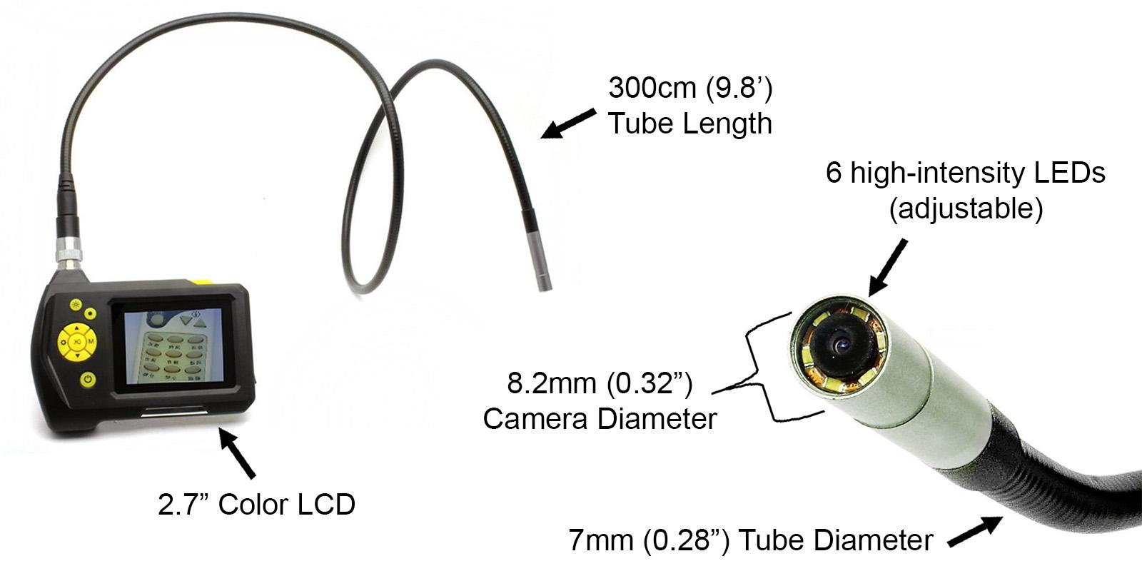 dbpower endoscope details