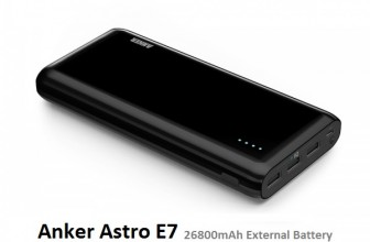 Anker Astro E7 External Battery Power Bank Review