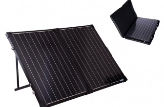 Renogy 100 Watt Foldable Solar Suitcase Review