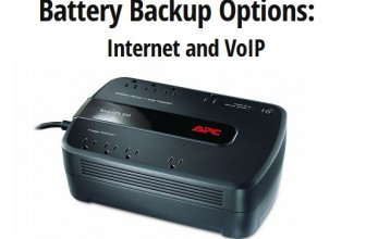 Battery Backup for Internet and VoIP