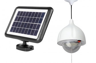 MicroSolar LED Solar Shed Lights Review